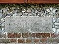 Village Hall - commemorative stone - geograph.org.uk - 841494.jpg