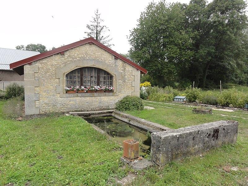 Ville-sur-Cousances (Meuse) lavoir