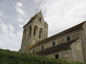 L'église Saint-Laurent.