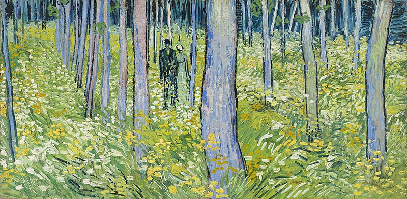 Fichier:Vincent van Gogh - Undergrowth with Two Figures - Google Art Project.jpg