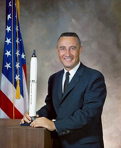 Astronaut Virgil Ivan