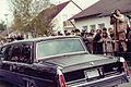 Visit by U.S. President Ronald Reagan to Bitburg military cemetery 1985, presidential car -0004.jpg