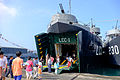 Visitors in Front of ROCN Kao Hsiung (LCC-1) 20151024.jpg