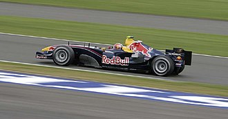 Vitantonio Liuzzi - Liuzzi driving the third Red Bull Racing car during practice for the 2005 British Grand Prix