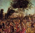 Vittore carpaccio, Martyrdom of the Pilgrims and the Funeral of St Ursula 04.jpg
