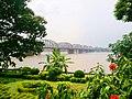 Vivekananda Setu from Garden.jpg