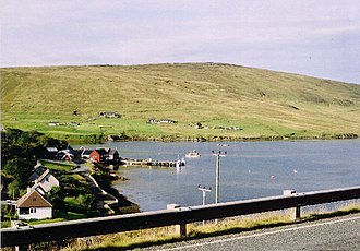 Voe, Shetland - Image: Voe, Shetland geograph.org.uk 95484