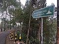 Volcano evacuation route sign in Bromo Tengger Semeru National Park.jpg