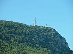 Vue du Mont Bouquet Gard..JPG