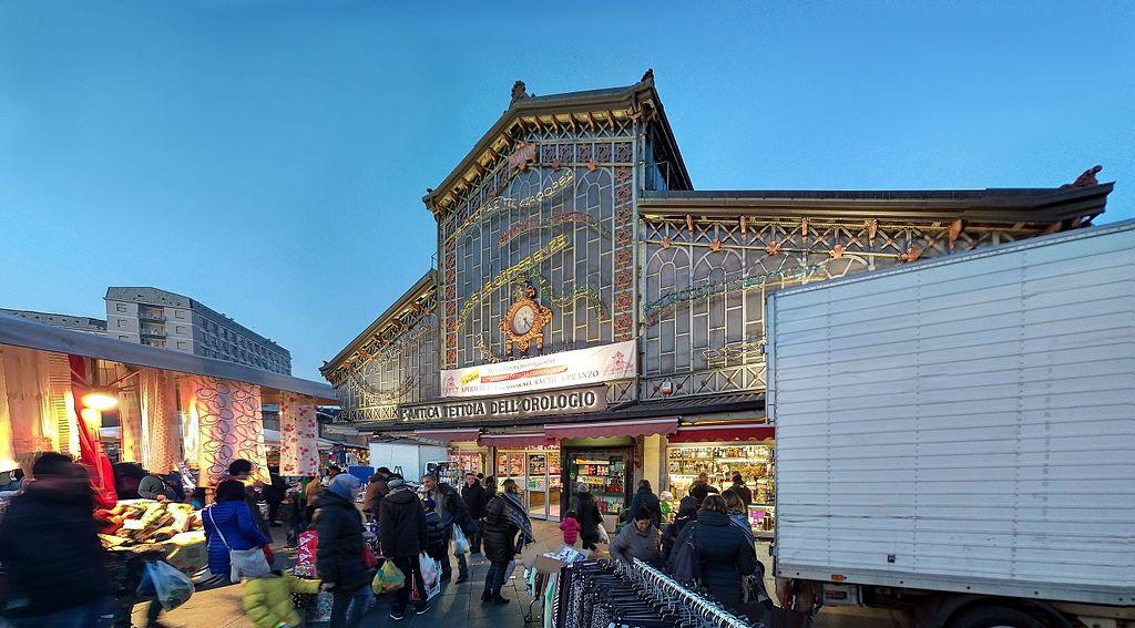 Marché couvert de Porta Palazzo à Turin. Photo de Pierre5018