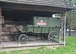 Wóz pocztowy - museum wsi lubelskiej.jpg