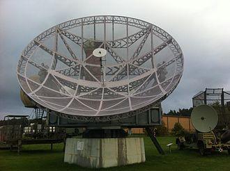 Würzburg radar - Würzburg-Riese at Gatow.