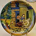 WLANL - MicheleLovesArt - Museum Boijmans Van Beuningen - Istoriato schotel, Geboorte van Asklepios.jpg