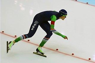 Jorien ter Mors Dutch short and long track speed skater