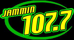 WWRX (FM) - Image: WWRX Jammin 107.7 (logo)