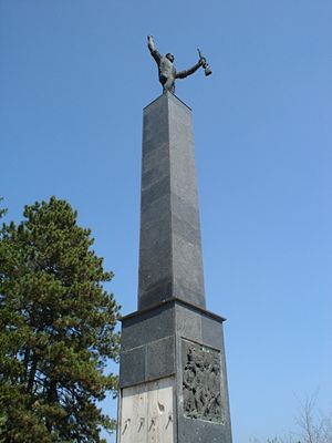 WW II Monument in Bolman.JPG