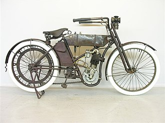 Wagner Motorcycle Company - Wagner motorcycle, 1911 model