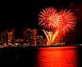 Waikiki Hilton Fireworks (4608142450).jpg
