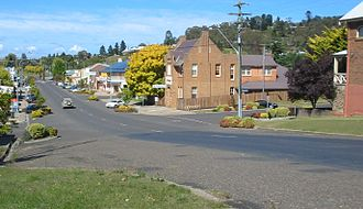 Walcha, New South Wales - Derby Street, Walcha