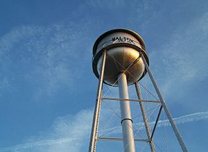 Former Walton Water Tower