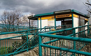 Wansbeck Road Metro station Station of the Tyne and Wear Metro