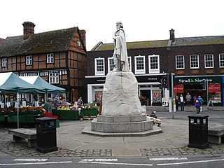 Wantage market town and civil parish in Vale of White Horse, Oxfordshire, England