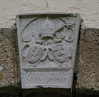 Michaelbeuern Abbey - Image: Wappen Benediktinerabtei Michaelbeuern
