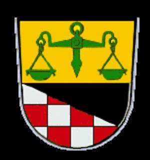 Markt Taschendorf - Image: Wappen von Markt Taschendorf