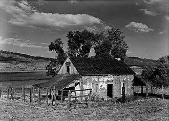 Warner's Ranch - Image: Warner Ranch, Ranch House (Warner Springs, CA)