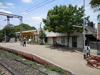 Washermanpet railway station