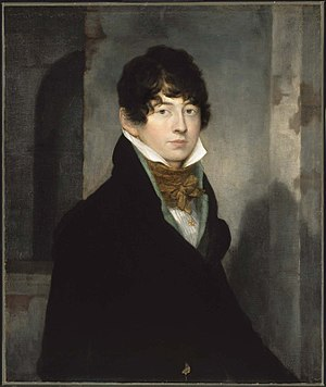 Washington Allston - Self-portrait, 1805