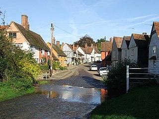 Kersey, Suffolk Human settlement in England