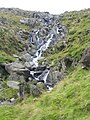 Waterfall on Nant Bochlwyd - geograph.org.uk - 57526.jpg