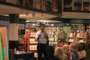 Wayne Pacelle - Wayne Pacelle at a book signing event, Ann Arbor, Michigan