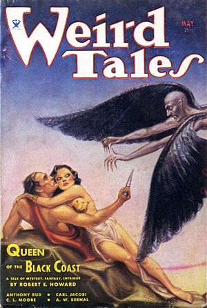 Queen of the Black Coast - Image: Weird Tales 1934 05 Queen of the Black Coast