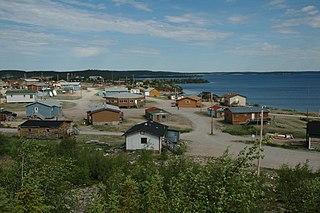 Wekweeti First Nation in Northwest Territories, Canada