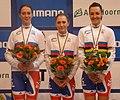 Weltmeisterinnen Verfolgung Bahn-WM 2011.jpg
