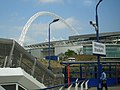 Wembley Stadium arch from rail station - geograph.org.uk - 407022.jpg
