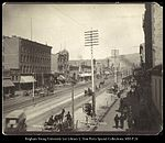 West Side of East Temple Street, Salt Lake City. C.R. Savage, Photo..jpg