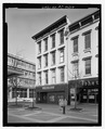 West elevation - 301 Fayetteville Street (Commercial Building), 301 Fayetteville Street, Raleigh, Wake County, NC HABS NC-403-4.tif