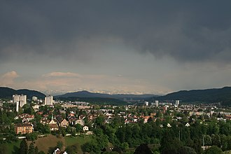 Wettingen - Image: Wettingen view from Stein 1