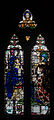 Wexford Church of the Assumption South Aisle Window Harry Clarke The Madonna with Sts Aidan and Adrian 2010 09 29.jpg