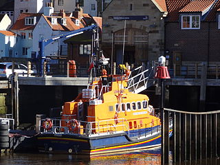 Whitby Lifeboat Station Lifeboat station in North Yorkshire, England