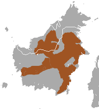 White-fronted Surili area.png