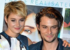 White Bird in a Blizzard - Shailene Woodley and Shiloh Fernandez in Paris at the film's French premiere.