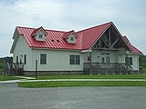 White building with red roof at Kiptopeke State Park.jpg