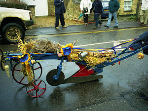 Plough Monday - Image: Whittlesey Plough