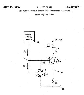 widlar current source wikipedia rh en wikipedia org Transistor-Based Current Source Current Source Symbol