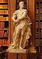 Wien-Innenstadt, Hofbibliothek, Statue-1.JPG
