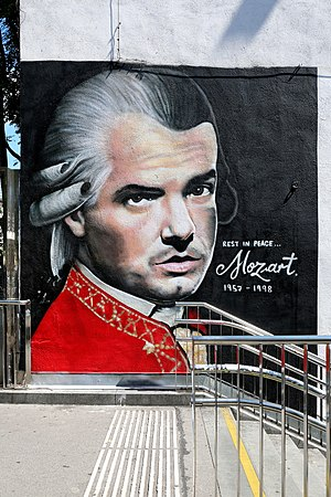 Rock Me Amadeus - Falco with Mozart Outfit